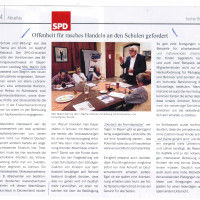 Schulpolitik in Bayern - Diskussion mit MdL Martin Güll
